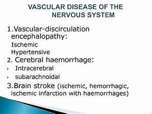 Cerebral-vascular Diseases