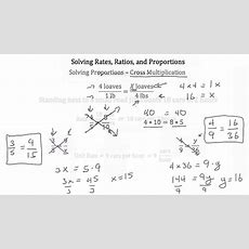 Solving Rates, Ratios And Proportionstextbook Tactics Youtube