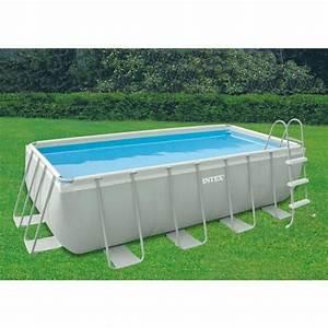 Piscine Rectangulaire Tubulaire Pas Cher : piscine hors sol 4 x 2 ~ Dailycaller-alerts.com Idées de Décoration