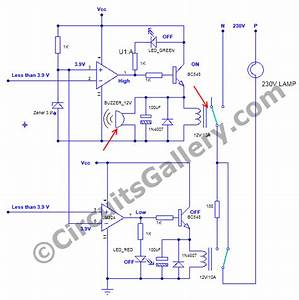 Circuit Of Voltage Stabilizer At Over Voltage