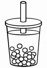 Tea Coloring Pages Iced Bubble Colouring Drawing Cup Drinks Drink Template Adults Sketch Clipart Printable Clip Cups Getdrawings Adult Getcolorings sketch template