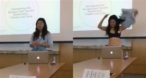 Cornell Student Delivers Thesis In Underwear After Professor Questions Her Outfit