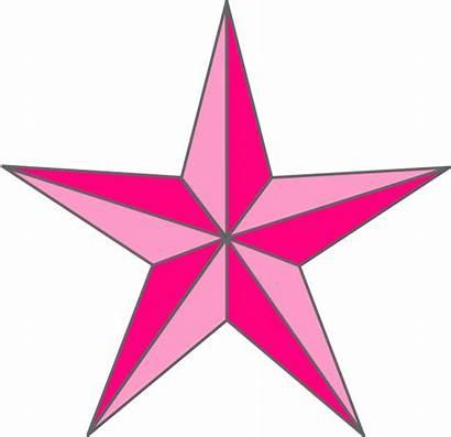 Star Nautical Pink Clip Clipart Clker Vector
