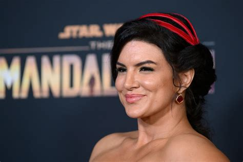 'Mandalorian' Star Gina Carano Accused Of 'Racism' For ...