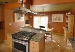 kitchen island with stove how to get more cooking countertop and storage space construction inc