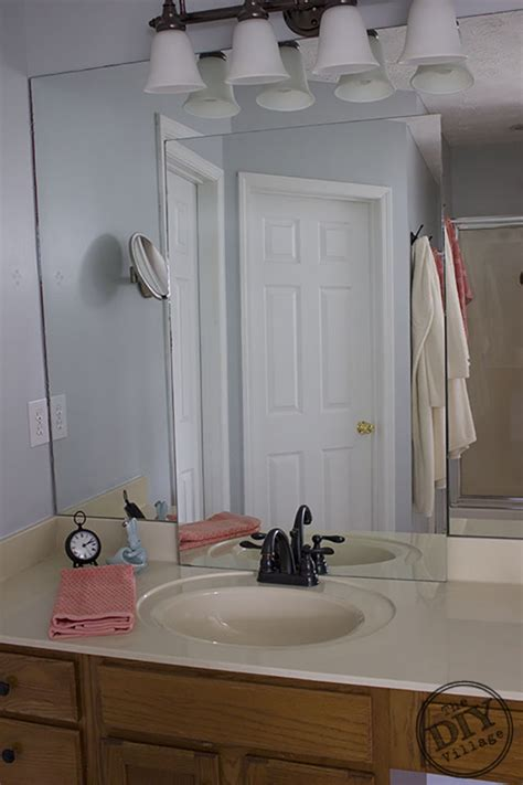 Mosaic Bathroom Mirror Diy by No Grout Mosaic Tile Mirror The Diy