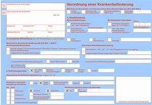 Krankenkasse Berechnen : transport krankenfahrdienst verordnung einer krankenbef rderung ~ Themetempest.com Abrechnung