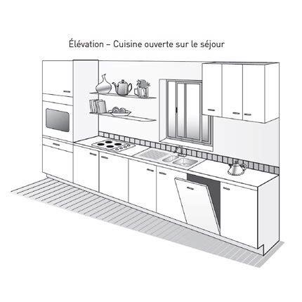 plan cuisine 10m2 plan de cuisine