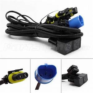 Relay Wiring Harness Xenon Hid Conversion Kit For 9007 Hb5