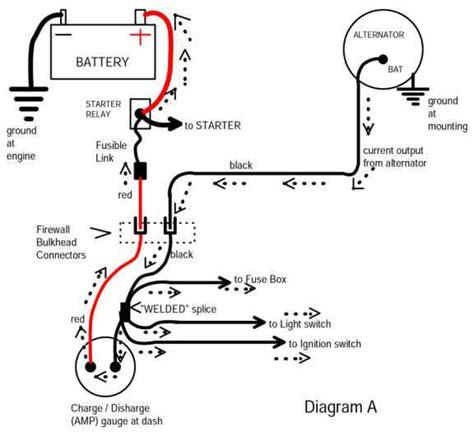 wiring diagram needed hei voltmeter mercuiser 288 350
