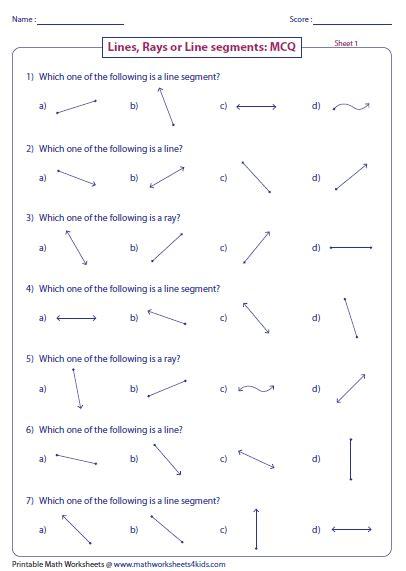 third grade math line segments angles homeshealth info