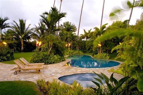 tropical backyards garden landscaping ideas to help create an outdoor haven interior design inspiration