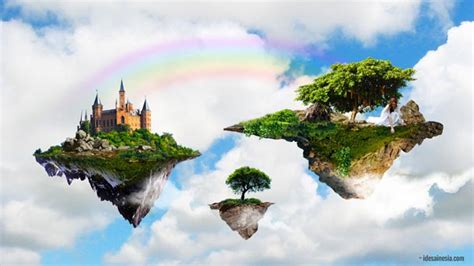 tutorial membuat negeri  awan  photoshop