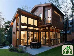Sip Cabin Kits.Modern Prefab Cabin The Passive Solar ...