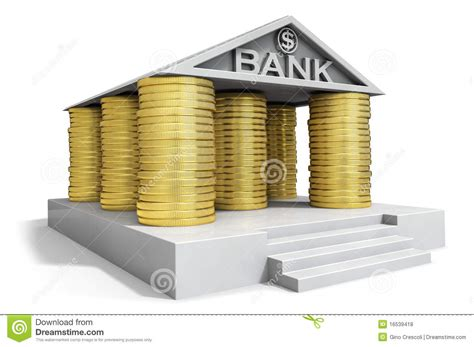 Banco Stock Bank Icon Stock Illustration Illustration Of Change