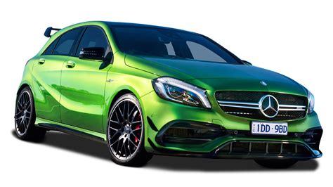Green Mercedes Benz A Class Car Png Image