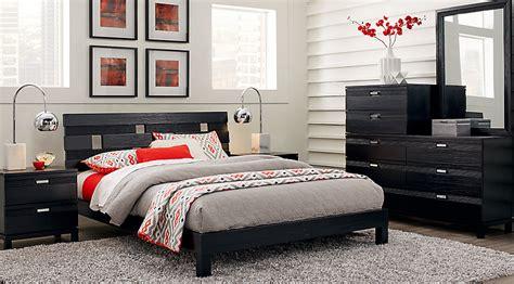 gardenia black  pc queen platform bedroom queen bedroom