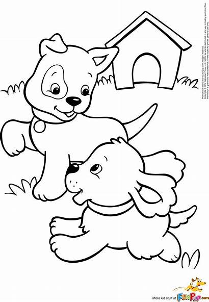 Coloring Puppy Pages Realistic