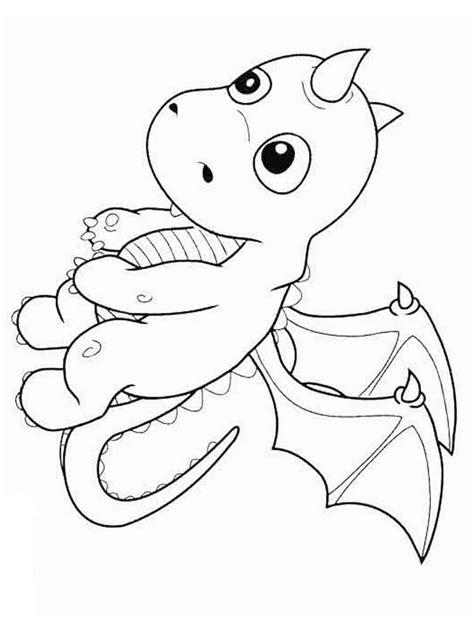 Cartoon Dragon coloring pages Free Printable Cartoon