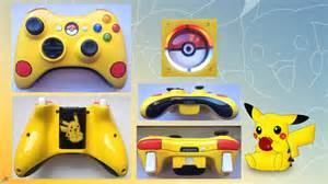 Pikachu Custom Xbox 360 Controller VERSION 2 0