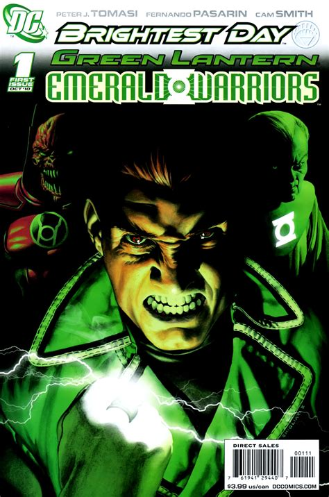 green lantern emerald warriors vol 1 dc database