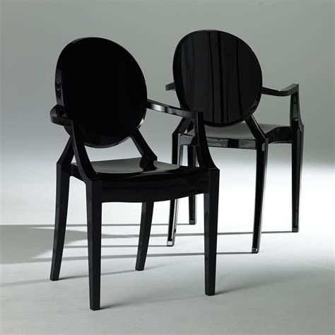 gloss luxury rentals ghost chair black