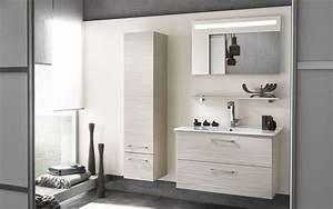 meuble bas salle de bain aubade With organisation salle de bain