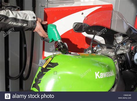 Motorcycle Gas Tank Stock Photos & Motorcycle Gas Tank