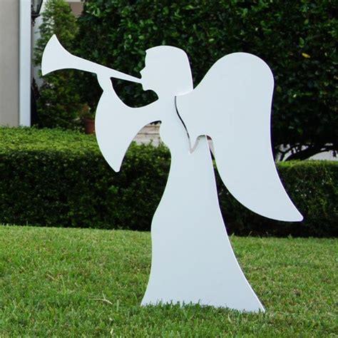 large  piece nativity angel figures