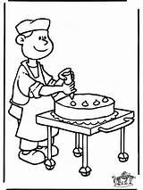 Coloring Bakker Baker Backen Kuchen Kleurplaten Kleurplaat Ausmalen Zum Malvorlagen Template Baecker Piekarz Ausmalbild Gratis Ausmalbilder Malvorlage Nukleuren Nikolaus Popular sketch template