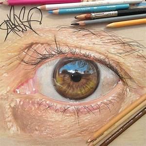 redosking dessine des yeux photorealistes avec de simples With comment faire des couleurs 18 point art wikipedia