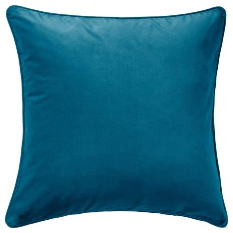 cushions ikea sanela cushion cover dark turquoise 65x65 cm ikea