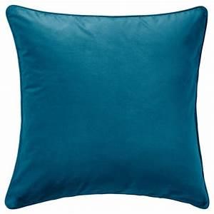 Housse De Coussin 65x65 : sanela housse de coussin turquoise fonc 65x65 cm ikea ~ Dailycaller-alerts.com Idées de Décoration