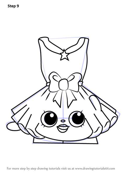 learn   draw tutucute  shopkins shopkins step