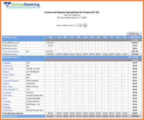 6 sle business expense spreadsheet excel