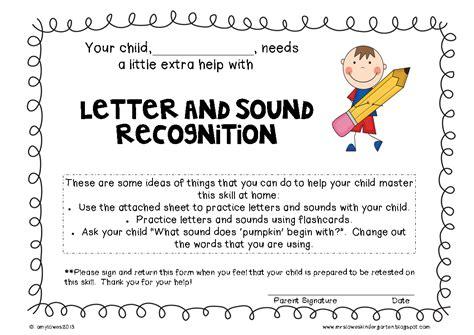 Mrs Lowes' Kindergarten Korner Lettersound Recognition