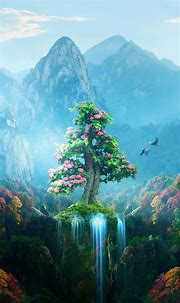 Spring Autumn Colorful Nature Magical Forest | Mobile ...
