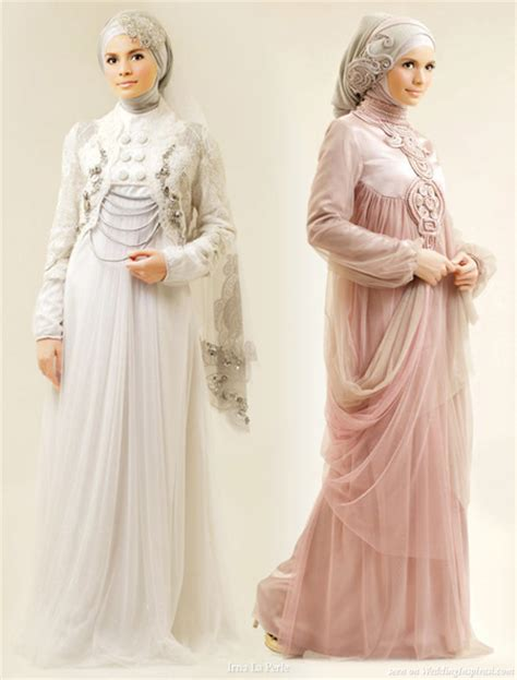 jual busana muslim butik new arabic bridal dresses collection and hijabs for muslim