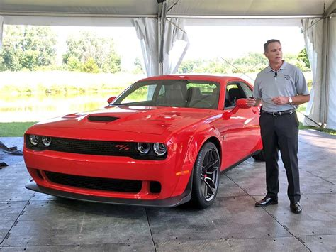 Dodge Boss Beahm Fills In The Blanks About Brand's Product