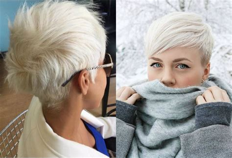 Fresh Cool Ideas On Blonde Pixie Haircuts