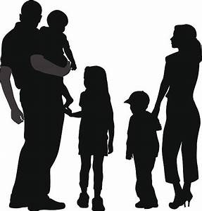 Royalty Free Family Of Five Clip Art, Vector Images ...