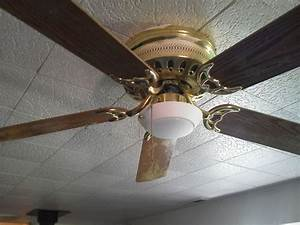 Ceiling fan light install