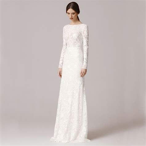 Permalink to Vintage Lace Long Sleeve Wedding Dress