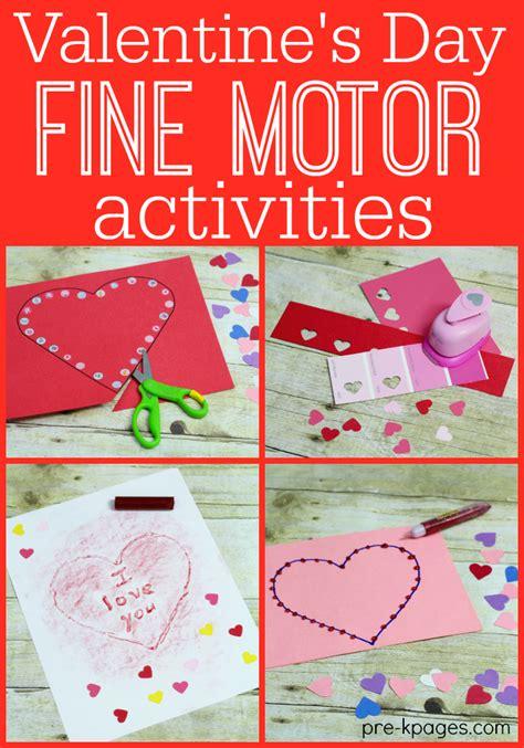 motor activities for preschoolers 741 | valentines day fine motor activities