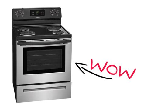 Frigidaire Stainless Steel Freestanding 5.3-cu Ft Self-cleaning Electric Range 9.00 (reg Deco Contemporary Epa Wood Stove Reviews Double 55 Gallon Barrel Enamel Finish Burning Stoves Kitchenaid Stainless Steel Top Kettle Evergreen Ellsworth Maine Can A Gas Burn Propane Roadpro 12 Volt Recipes 4 Burner Auto Ignition