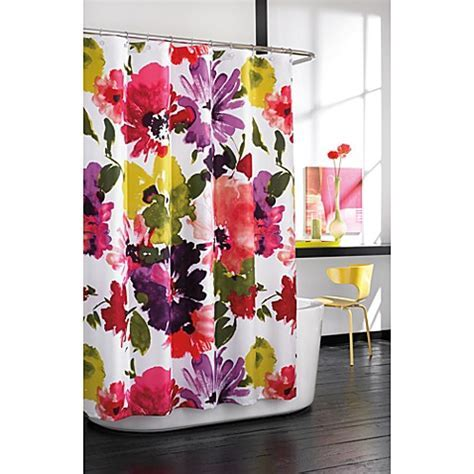 Anthology? Avery Fabric Shower Curtain   Bed Bath & Beyond