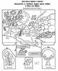 Arche Noah Basteln : ad o e eva para colorir e montar a cria o do mundo ad o e eva ad o e hist rias b blicas ~ Yasmunasinghe.com Haus und Dekorationen