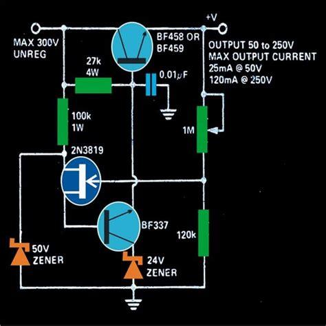 Adjustable Mosfet Transformerless Power Supply