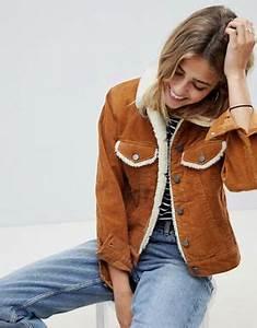 Veste En Jean Doublée Mouton Femme : manteaux vestes femme asos ~ Melissatoandfro.com Idées de Décoration