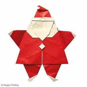 Origami Facile Noel : diy origami du p re no l vid o id es conseils et tuto ~ Melissatoandfro.com Idées de Décoration